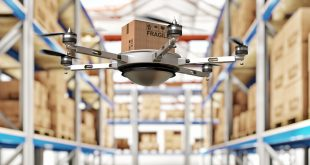 drone work in classic warehouse 3d image; Shutterstock ID 248134027; PO: digital initiatives