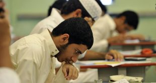 Saudi-students-sit-for-their-final-high-school-exams-in-the-Red-Sea-port-city-of-Jeddah-on-June-19-2010.-AFP