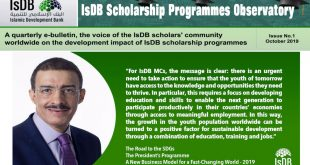 October_2019_issue-of_the_e-bulletin_entitled_-_IsDB_Scholarship_Programmes_Observatory